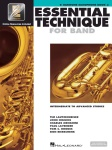 Baritone Saxophone Essential Technique Book 3