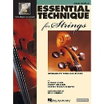 Cello Essential Technique For Strings Book 3
