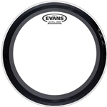 "Evans BD22EMAD2 22"" EMAD2 Batter Clear Bass Drum Head"