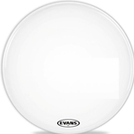 "Evans BD22MX1W 22"" MX1 Marching Bass Drum Head White"
