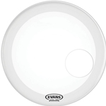 "Evans BD22RSW 22"" EQ3 Resonant Smooth White Bass Drum Head"