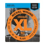 D'Addario EJ20 Nickel Wound Jazz Extra Light Electric Guitar String Set