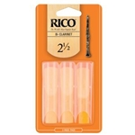 Rico RCA0325 Bb Clarinet Reeds #2.5 -3 Pack-