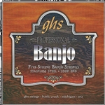 GHS PF170 5-String Banjo Light Gauge String Set
