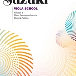 Suzuki Viola School, Piano Part Volume 4; 00-0275S