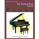 Alfred Ear Training Book Level 6; 00-14538