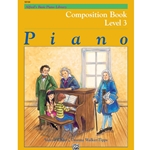 Alfred Composition Book Level 3; 00-18104