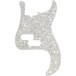 Fender Precision Bass Pickguard 13-Hole Modern Style White Moto