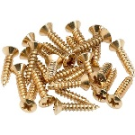 Fender Gold Pickguard-Control Plate Mounting Screws