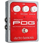 Electro-Harmonix Micro POG Polyphonic Octave Generator Effects Pedal