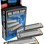 Hohner Big River MS Pro Harmonica Pack