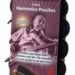 Hohner HPN5 5-pack of Harmonica Pouches