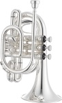 Jupiter JTR710S Silver Bb Pocket Trumpet