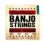 Dunlop Nickel Tenor Banjo String Set