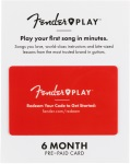 Fender Play 6-Month Discounted Subcription
