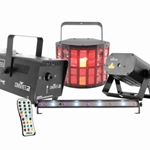 Chauvet DJ JAM Pack Gold Lighting/Fog Package