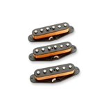 Seymour Duncan Alnico II Pro Staggered Strat Calibrated Pickup Set; APS-1 CAL S