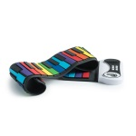 Mukikim Rock and Roll it Rainbow Piano; MUK-PN49CLR