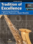 Tenor Saxophone Tradition of Excellence Book 2