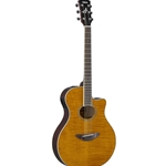 Yamaha APX-600 Flame Maple Top Acoustic/Electric Guitar; APX-600FM