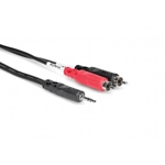 Hosa CMR210 Dual RCA to 3.5mm Patch Cable
