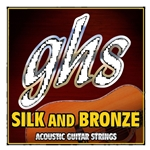 GHS 37012L Silk and Bronze 12-String Acoustic Guitar String Set