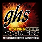 GHS GBH8 Boomers 8-String Electric Guitar String Set Heavy 11-85