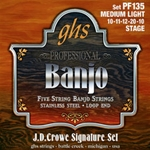 GHS PF135 JD Crowe Stage Signature Banjo String Set
