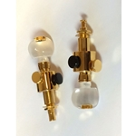 Schaller 612 Pair of Banjo D-Tuners; Gold