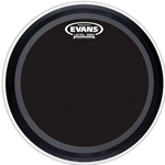 "Evans BD22EMADONX 22"" Onyx 2-Ply Bass Drum Head"