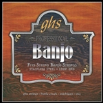 GHS PF170 5-String Banjo Regular Light Gauge String Set