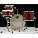 Drum Workshop DDLG2004 Design Series Frequent Flyer 4pc Drum Set