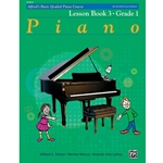 Alfred's Basic Graded Piano Course, Lesson Book 3 Grade 1; 20183UK