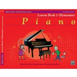 Alfred's Basic Graded Piano Course, Lesson Book 1 Elementary; 20181UK