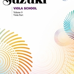 Suzuki Viola School, Viola Part Book and CD Volume 9; 00-42298