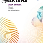 Suzuki Viola School, Viola Part Book and CD Volume 3; 00-40691
