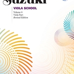 Suzuki Viola School, Viola Part Book and CD Volume 6; 00-45024