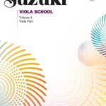 Suzuki Viola School, Viola Part With CD Volume 8; 00-40760