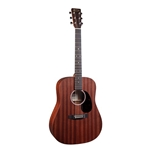Martin D-10E Sapele Dreadnought Road Series Acoustic/Electric Guitar