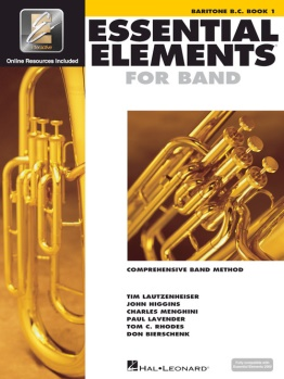 Essential Elements for Baritone B.C. Book 1; 00862578