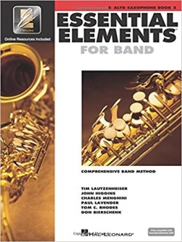 Baritone Saxophone Essential Elements Book 2