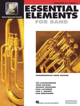 Baritone BC Essential Elements Book 2