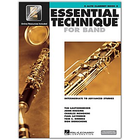 Essential Technique for Alto Clarinet Book 3; 00862621