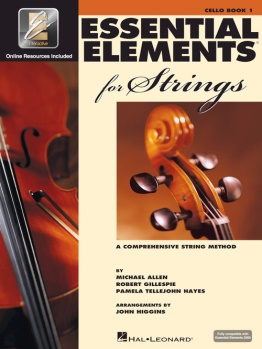 Cello Essential Elements For Strings Book 1