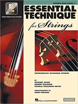 Double Bass Essential Technique For Strings Book 3