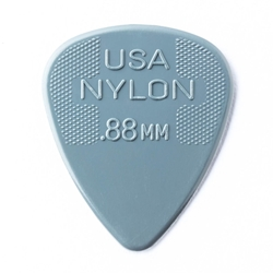 Jim Dunlop Nylon Standard Guitar Pick - 12 Pack -