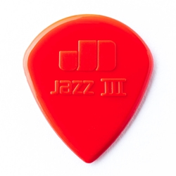 Jim Dunlop 47P3N Jazz III Red Nylon - 6 Pack -