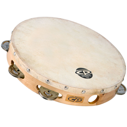 "Latin Percussion CP379 CP 10"" Headed Tambourine"