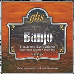 GHS PF150 5-String Banjo Light Gauge Phosphor Bronze String Set