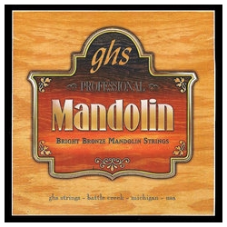 GHS PF250 Mandolin Bright Bronze String Set Medium Light
